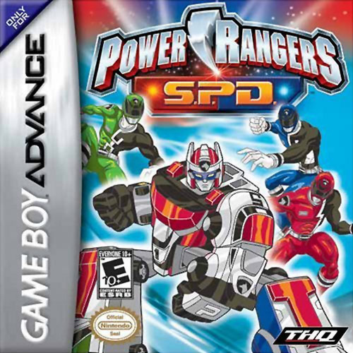 Power Rangers SPD GBA  Onlinemania