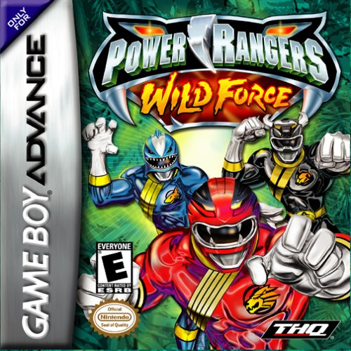 Portada de la descarga de Power Rangers: Wild Force