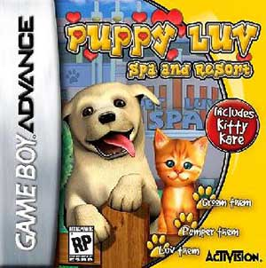 Juego online Puppy Luv: Spa & Resort (GBA)