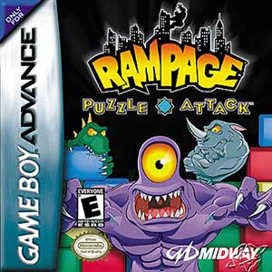 Juego online Rampage Puzzle Attack (GBA)