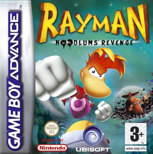 Portada de la descarga de Rayman: Hoodlum's Revenge