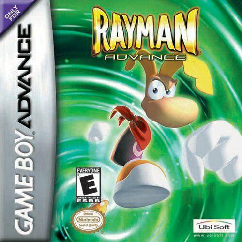 Portada de la descarga de Rayman Advance