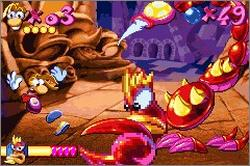 Imagen de la descarga de Rayman Advance