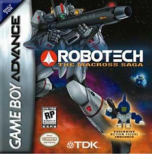 Juego online Robotech: The Macross Saga (GBA)