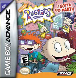 Portada de la descarga de Rugrats: I Gotta Go Party