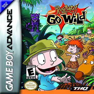 Juego online Rugrats Go Wild (GBA)