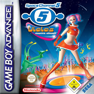 Juego online Space Channel 5: Ulala's Cosmic Attack (GBA)