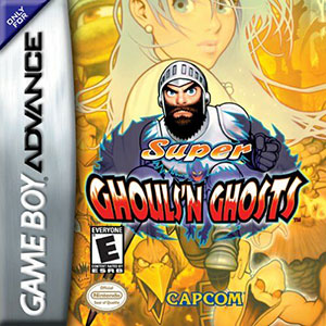 Portada de la descarga de Super Ghouls 'n Ghosts