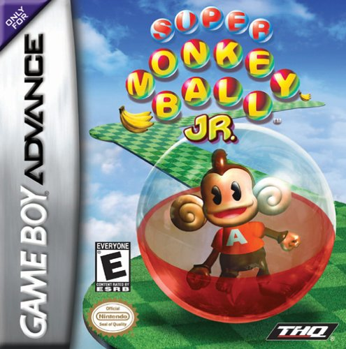 Portada de la descarga de Super Monkey Ball Jr