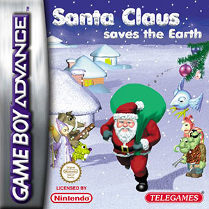Portada de la descarga de Santa Claus Saves the Earth