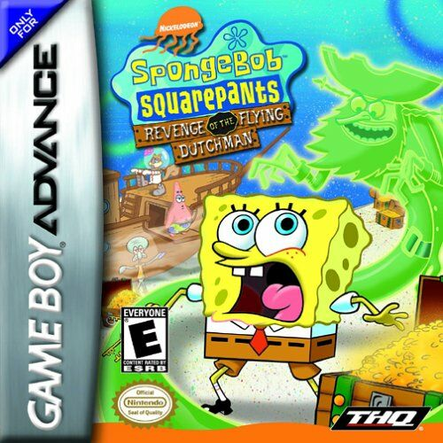 Portada de la descarga de SpongeBob SquarePants: Revenge of the Flying Dutchman