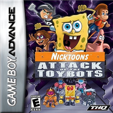 Portada de la descarga de Nicktoons: Attack of the Toybots