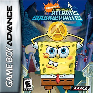 Juego online SpongeBob's Atlantis SquarePantis (GBA)