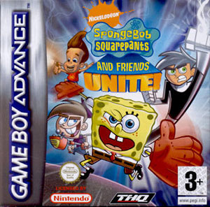Juego online SpongeBob SquarePants and Friends: Unite! (GBA)