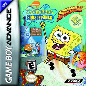 Portada de la descarga de SpongeBob SquarePants: SuperSponge