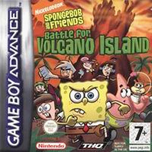 Juego online Spongebob and Friends: Battle for Volcano Island (GBA)