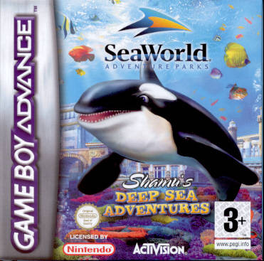 Portada de la descarga de SeaWorld: Shamu's Deep Sea Adventures
