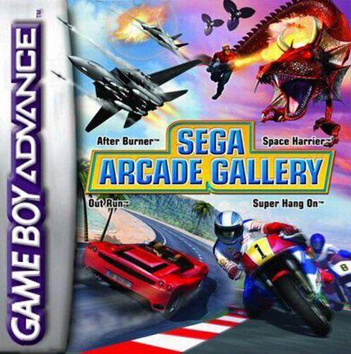Portada de la descarga de Sega Arcade Gallery