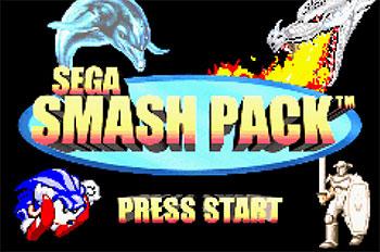 Imagen de la descarga de Sega Smash Pack