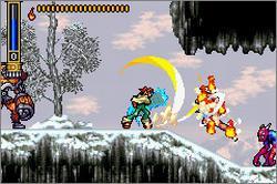 Pantallazo del juego online Shaman King Master of Spirits (GBA)