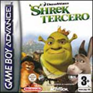 Carátula del juego Shrek Tercero (GBA)