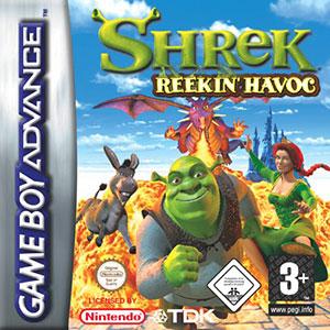 Portada de la descarga de Shrek: Reekin' Havoc