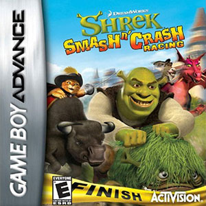 Juego online Shrek: Smash n' Crash (GBA)