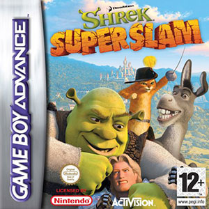 Portada de la descarga de Shrek SuperSlam