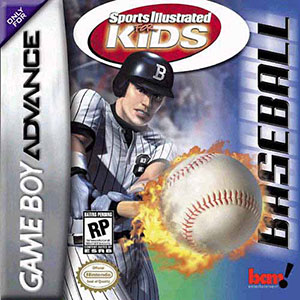 Juego online Sports Illustrated for Kids Baseball (GBA)
