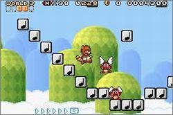 Pantallazo del juego online Super Mario Advance 4 Super Mario Bros 3 (GBA)