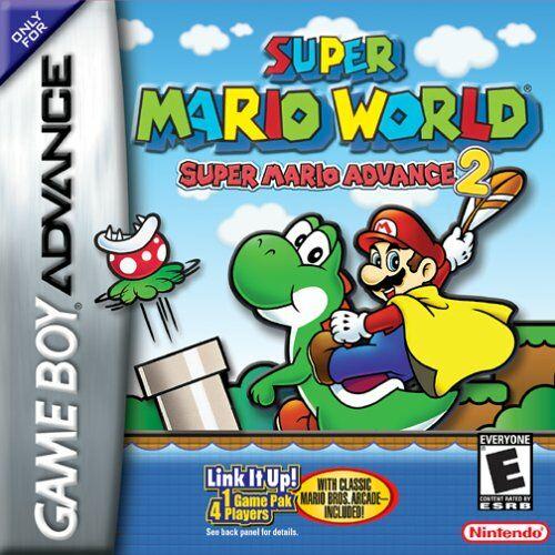 Portada de la descarga de Super Mario World: Super Mario Advance 2