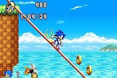 Imagen de la descarga de Sonic Advance