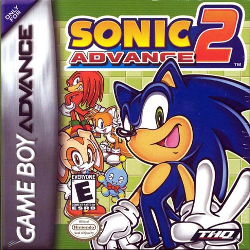 Portada de la descarga de Sonic Advance 2