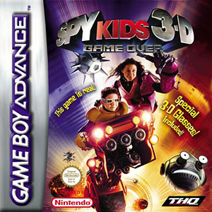 Portada de la descarga de Spy Kids 3-D: Game Over