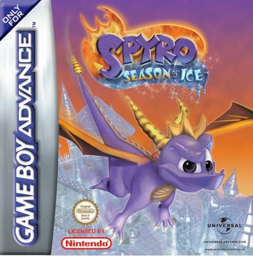 Portada de la descarga de Spyro: Season of Ice