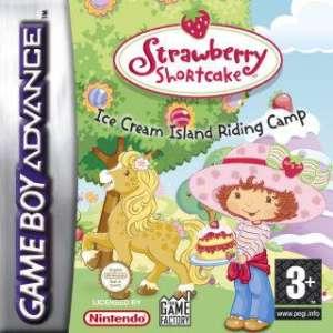Portada de la descarga de Strawberry Shortcake – Ice Cream Island Riding Camp