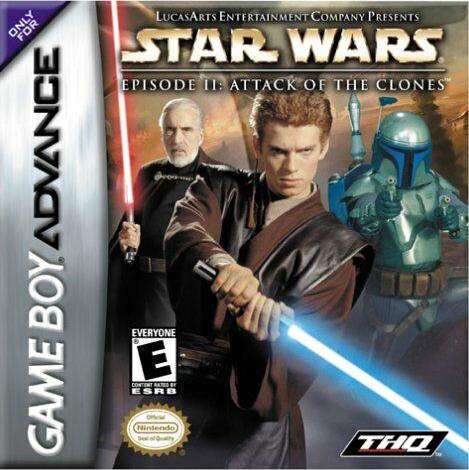 Portada de la descarga de Star Wars: Episode II: Attack of the Clones