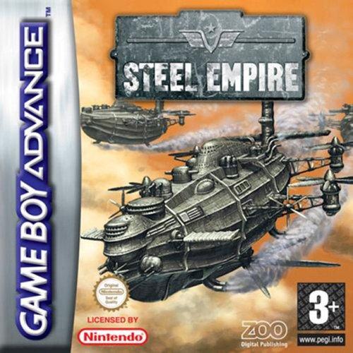 Portada de la descarga de Steel Empire