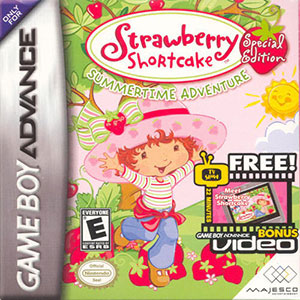 Juego online Strawberry Shortcake: Summertime Adventure - Special Edition (GBA)