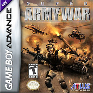 Juego online Super Army War (GBA)