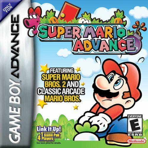 Portada de la descarga de Super Mario Advance