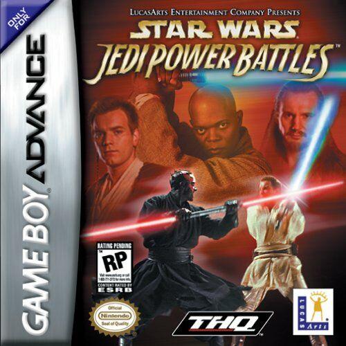 Portada de la descarga de Star Wars: Jedi Power Battles
