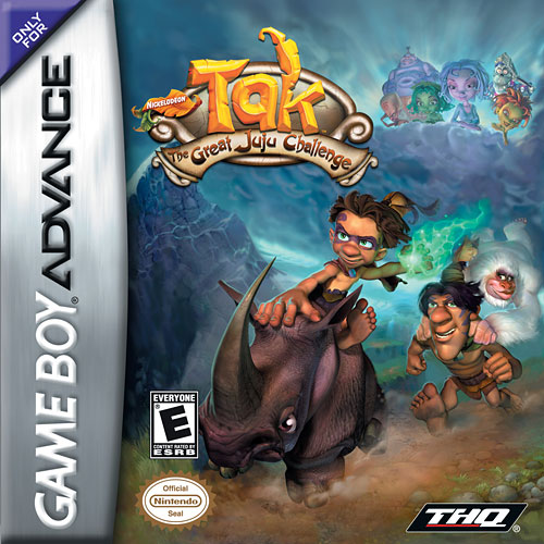 Portada de la descarga de Tak: The Great Juju Challenge