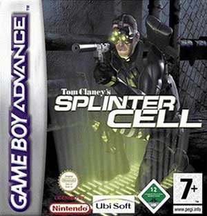 Carátula del juego Tom Clancy's Splinter Cell (GBA)