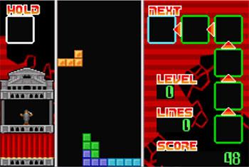 Imagen de la descarga de Tetris Advance