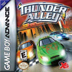 Juego online Thunder Alley (GBA)