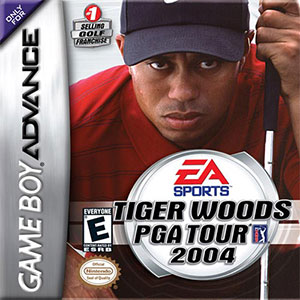 Juego online Tiger Woods PGA Tour 2004 (GBA)