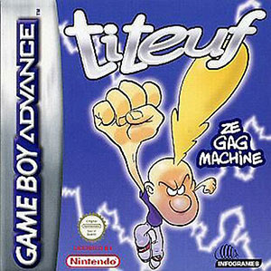 Juego online Titeuf - Ze Gag Machine (GBA)