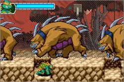 Pantallazo del juego online Teenage Mutant Ninja Turtles 2 (GBA)