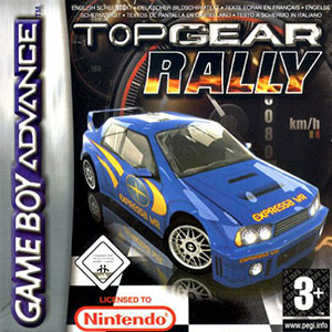 Juego online Top Gear Rally (GBA)